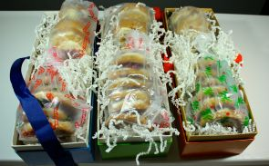 Ready to be shipped off to #fbcookieswap recipients
