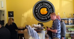 The Barossa Valley Cheese Co. in Angaston was a delight