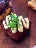 Roasted mushroom croquette