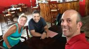 Lara, Luis and me - best of pals!