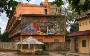 Mural at the University of Conakry