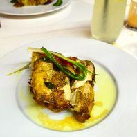 Fillet de mérou - at the Millenium - best meal in Guinea
