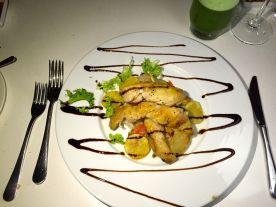 Fancy meals at the Millenium