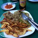 Dinner in Guéckédou