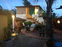 Terrace courtyard at Le Patio