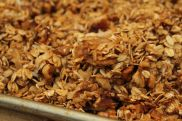 Clumps of granola goodness